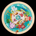五阶-城市职业旋转拼图